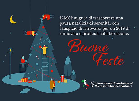Buone feste da IAMCP