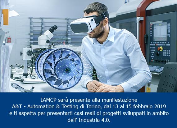 """IAMCP Italia a """"A&T - Automation & Testing di Torino"""""""