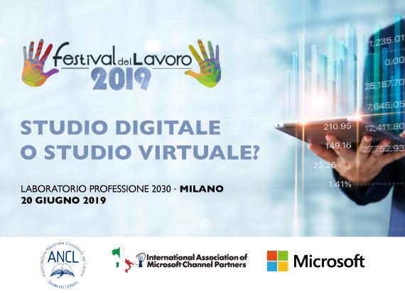 """""""Studio Digitale o Studio Virtuale?"""" - IAMCP Italia al Festival del Lavoro di Milano"""