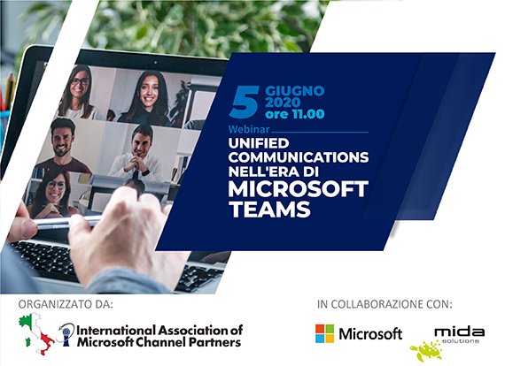 "Webinar ""Unified Communications nell'era di Microsoft Teams"""