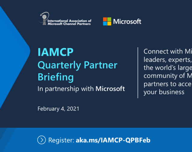 3 - 4 febbraio 2021 | The IAMCP Quartely Partner Briefing